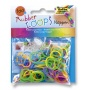 Gumki RUBBER LOOPS Noppen, węzełek, 100szt., mix kolorów