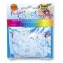 Koraliki RUBBER LOOPS UV Efekt, 100szt., mix kolorów, Produkty kreatywne, Szkoła 2015
