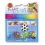 Charmsy RUBBER LOOPS FUNLAND, 5szt., mix kolorów, Produkty kreatywne, Szkoła 2015