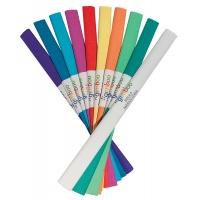 Bibuła marszczona GIMBOO, w rolce, 50x200cm, mix kolorów, Produkty kreatywne, Szkoła 2015