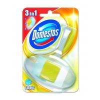 Kostka toaletowa DOMESTOS Cytrus, w koszyku, 40g, Środki czyszczące, Artykuły higieniczne i dozowniki