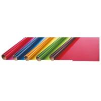 Folia prezentowa FOLIA PAPER, 70x200cm, w rolce, transparentne kolory, Produkty kreatywne, Szkoła 2015