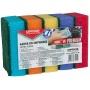Gąbka do zmywania OFFICE PRODUCTS Maxi Premium, 5szt., mix kolorów