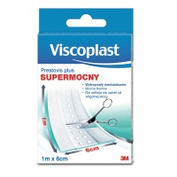 Plaster VISCOPLAST Plus, 6cmx1m, biały, Plastry, apteczki, Artykuły higieniczne i dozowniki