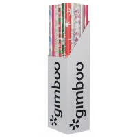 Papier pakowy prezentowy GIMBOO, 70x200cm, mix wzorów, Produkty kreatywne, Szkoła 2015