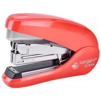 Zszywacz KANGARO LE-10FR, zszywa do 20 kartek, czerwony, Zszywacze, Drobne akcesoria biurowe