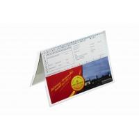 Obwoluta ochronna, 2 x A5, wytrzymały PP, wym. 296x210 mm (wys x szer), Koszulki i obwoluty, Archiwizacja dokumentów