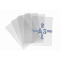 Kieszeń przezroczysta A3, wytrzymały plastik., Koszulki i obwoluty, Archiwizacja dokumentów
