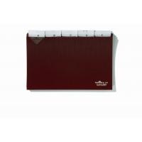 Przekładki A5 poziom 5/5 do kartoteki z twardego PCW 0, 3mm z wsuwanymi indeksami 40 mm, Miniarchiwa i kartoteki, Archiwizacja dokumentów