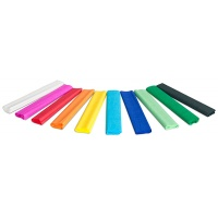 Bibuła marszczona GIMBOO, w rolce, 25x200cm, 10szt., mix kolorów, Produkty kreatywne, Artykuły szkolne