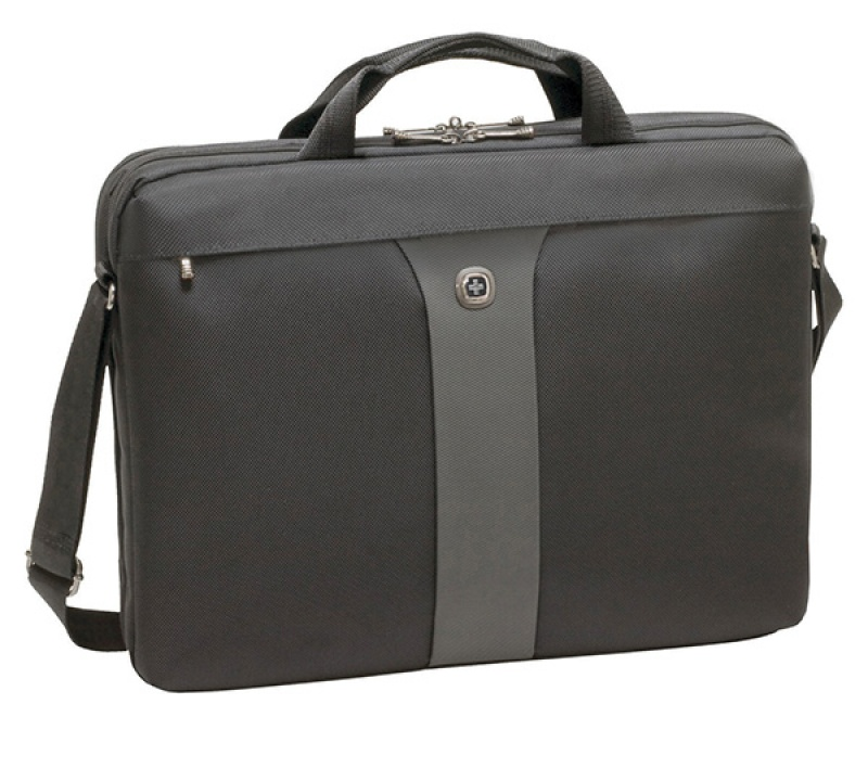 """Torba na laptopa WENGER Slim Legacy, 17"""", 440x340x80mm, czarna, Torby, teczki i plecaki, Akcesoria komputerowe"""