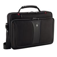 """Torba na laptopa WENGER Slim Legacy, 16"""", 400x300x120mm, czarna, Torby, teczki i plecaki, Akcesoria komputerowe"""