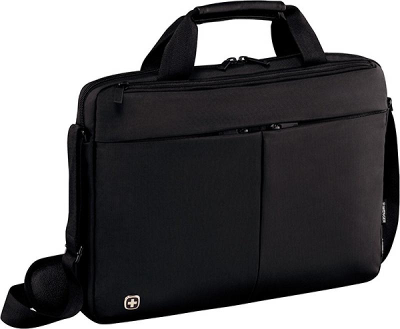 """Torba na laptopa WENGER Slim Format, 16"""", 410x280x90mm, czarna, Torby, teczki i plecaki, Akcesoria komputerowe"""