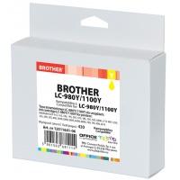 Tusz OP K Brother LC-980Y/1100Y (do DCP-6690C), yellow, Tusze, Materiały eksploatacyjne