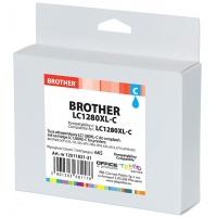 Tusz OP K Brother LC1280XL-C (do MFC-J5910DW), cyan, Tusze, Materiały eksploatacyjne