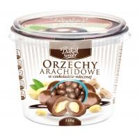 Kubek orzechów arachidowych w czekoladzie mlecznej BAKAL, 150g, Take a break, Wyposażenie biura