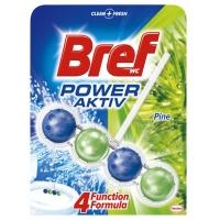Kulki toaletowe BREF Power Aktiv Pine, 50g, Środki czyszczące, Artykuły higieniczne i dozowniki