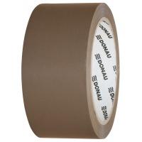 Taśma pakowa DONAU Hot-Melt , 48mm, 66m, 50mikr., brązowa, Taśmy pakowe, Koperty i akcesoria do wysyłek