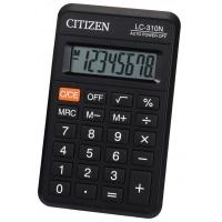 Kalkulator kieszonkowy CITIZEN LC-310N, 8-cyfrowy, 114x69mm, czarny, Kalkulatory, Urządzenia i maszyny biurowe