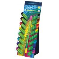 Display Cienkopis/Flamaster SCHNEIDER Link-It, 80szt. + 80szt. mix kolorów, Flamastry, Artykuły do pisania i korygowania