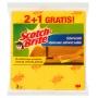 Ściereczki domowe SCOTCH BRITE™, 2+1szt., żółte