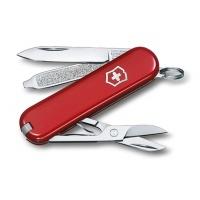 Scyzoryk VICTORINOX Classic SD, celidor, 58mm, czerwony, Scyzoryki, Ochrona indywidualna