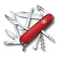 Scyzoryk VICTORINOX Huntsman, celidor, 91mm, czerwony, Scyzoryki, Ochrona indywidualna