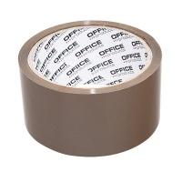 Taśma pakowa OFFICE PRODUCTS Hot-Melt, 48mm, 50y, 45mikr., brązowa, Taśmy pakowe, Koperty i akcesoria do wysyłek