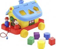 DOMEK OGRODNIKA NA KOŁACH, Zabawki