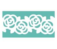 DZIURKACZ BRZEGOWY WIELOFUNKCYJNY 5cm RÓŻA, Dziurkacze, Artykuły dekoracyjne