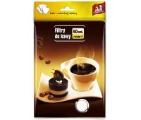 FILTRY DO KAWY ROZM.4 50szt JN, Herbata, kawa, Artykuły spożywcze