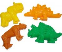 FOREMKI (TYGRYS +MAMUT +DINOZAUR +DINOZAUR), Zabawki