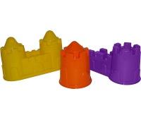 FOREMKI (ZAMEK WIEŻA +ZAMEK ŚCIANA +ZAMEK MOST), Zabawki