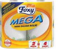 FOXY RĘCZNIK 2SZT. MEGA, Ręczniki papierowe i dozowniki, Artykuły higieniczne i dozowniki
