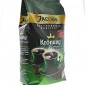 KAWA JACOBS KRONUNG 1kg., Herbata, kawa, Artykuły spożywcze