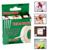 KLEJĄCE KROPKI MF913185-250 ŚR.10mm 250 kr., Produkty kreatywne, Artykuły szkolne