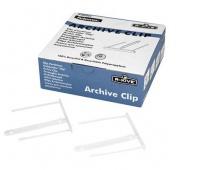 KLIPSY ARCHIWIZACYJNE 50SZT., Klipsy i spinki archiwizacyjne, Archiwizacja dokumentów