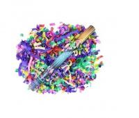 KONFETTI PNEUMATYCZNE MIX 60CM, Produkty kreatywne, Artykuły dekoracyjne