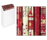 PAPIER DO PAKOWANIA 1,5x0,7m SECRET PASSION, Papier ozdobny, Papier i etykiety