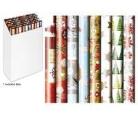PAPIER DO PAKOWANIA 5,0x0,7m MIX, Papier ozdobny, Papier i etykiety