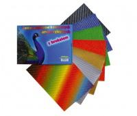 Papiery kol. samop. A4 lakier. brokatowe, Produkty kreatywne, Artykuły dekoracyjne