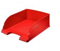 Półka na dokumenty Leitz Plus, Jumbo, Czerwony, Szufladki na biurko, Archiwizacja dokumentów