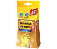 RĘKAWICE WINYLOWE M 10szt JN, Rękawice, Ochrona indywidualna
