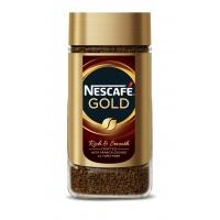 KAWA ROZPUSZCZALNA NESCAFE GOLD 200G, Artykuły spożywcze, Herbata, kawa