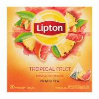 HERBATA LIPTON PIRAMIDKA TROPICAL FRUIT 20T, Artykuły spożywcze, Herbata, kawa