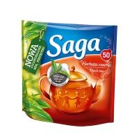 HERBATA EKSPRESOWA SAGA 50T, Artykuły spożywcze, Herbata, kawa
