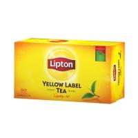 HERBATA LIPTON YELLOW LABEL 50 TOREBEK , Artykuły spożywcze, Herbata, kawa