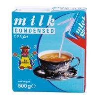 MLEKO ZAGĘSZCZANE GOSTYŃ KARTONIK 0.5L NIESŁODZONE 7,5% TŁUSZCZU, Artykuły spożywcze, Dodatki do kawy i herbaty