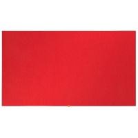 """Tablica filcowa NOBO, 90x51cm, panoramiczna 40"""", czerwona"""