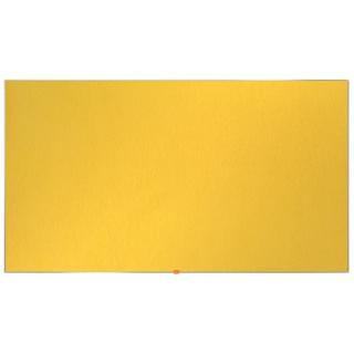 """Tablica filcowa NOBO, 123x70cm, panoramiczna 55"""", żółta, Tablice filcowe, Prezentacja"""